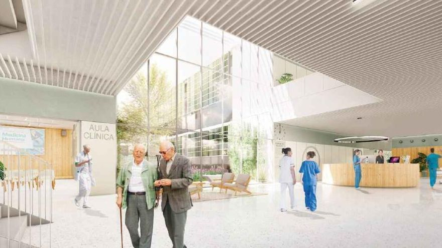 Así será el nuevo Hospital para pacientes crónicos que se construirá en Felanitx