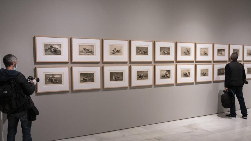 """La """"conexión espiritual"""" entre Goya y Picasso llega a València"""