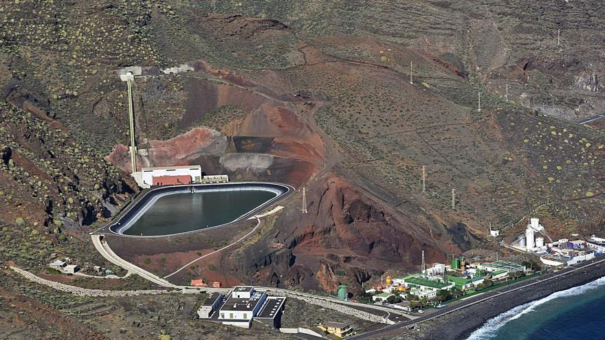Central Hidroeléctrica Reversible  de Tenerife en Güímar