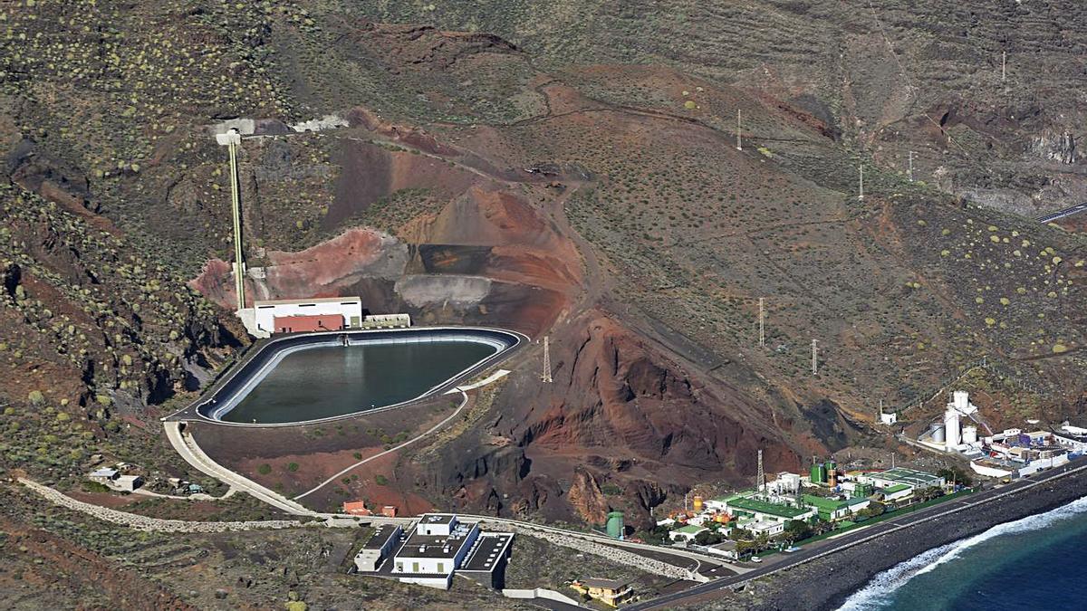Central Hidroeléctrica Reversible  de Tenerife en Güímar |  E.D.