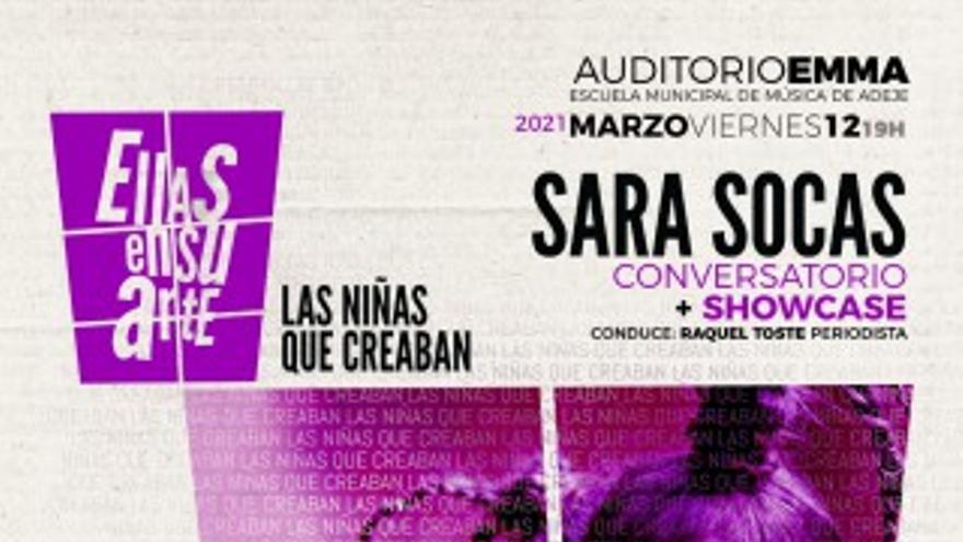 Conversatorio + actuación, Sara Socas