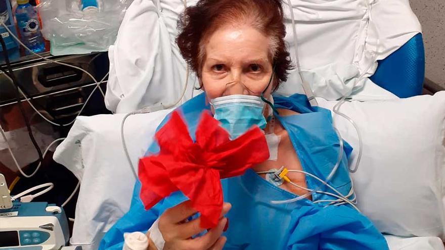 Pepi,  43 días salvada por los ángeles de la UCI
