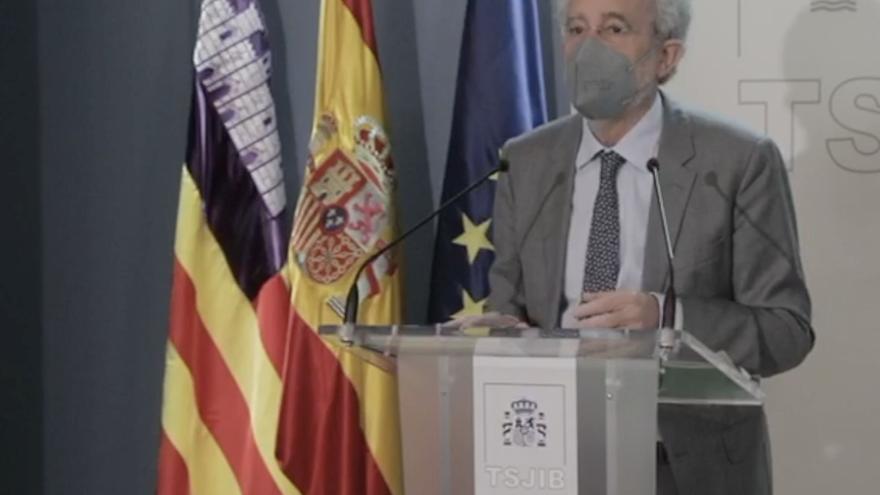 El presidente del TSJB alerta de la marcha de funcionarios a otras comunidades por el alto coste de la vida en Baleares