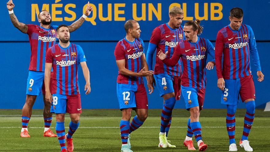 El Barça 'post-Messi' guanya el Gamper  (3-0)
