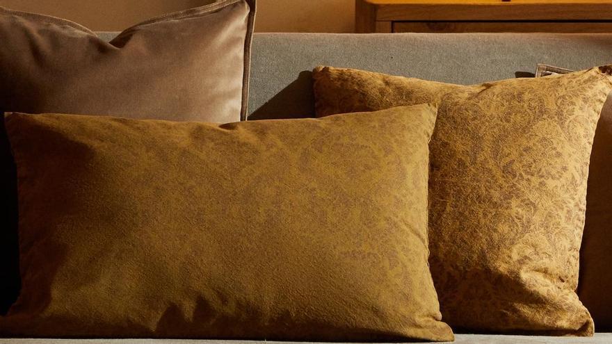 Los últimos cojines de Zara Home para el otoño: de lino, algodón y lana