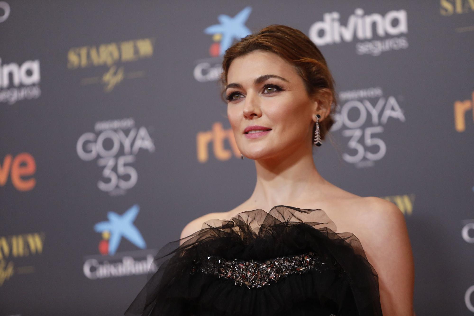 Alfombra roja de la gala de los Goya 2021 en Málaga