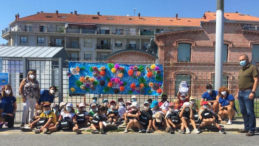 Participantes en uno de los campamentos de conciliación del pasado año. / C.S.