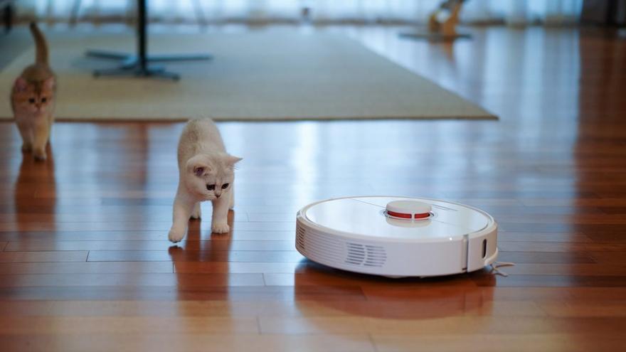 Tu robot aspirador OKP al 41% de descuento antes del Prime Day