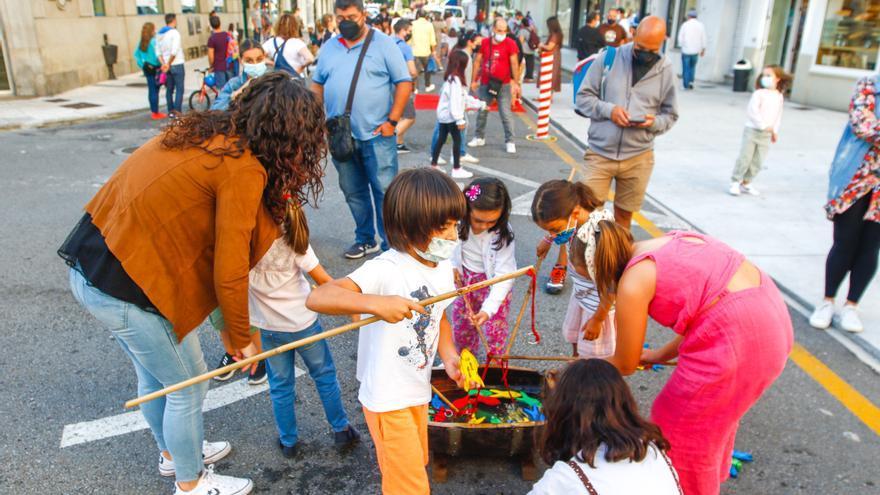 Los niños volvieron a jugar en la calle