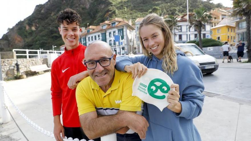Los Torrontegui son una mina: los hijos del fisioterapeuta seguirán su carrera deportiva en Asturias