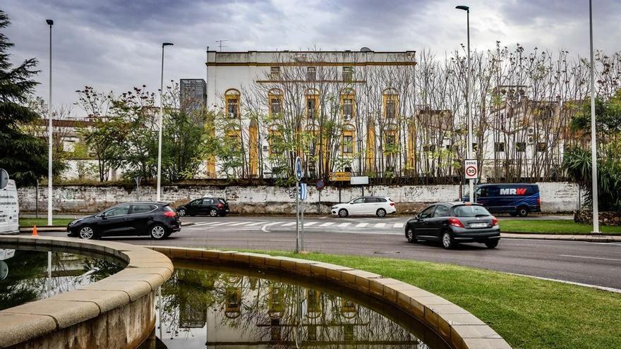 Adjudicada la demolición del muro del palacio de Godoy en Badajoz