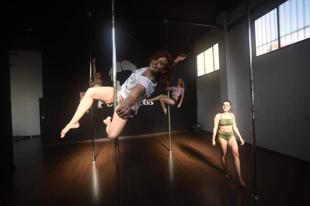 Clase de Pole Dance en Murcia