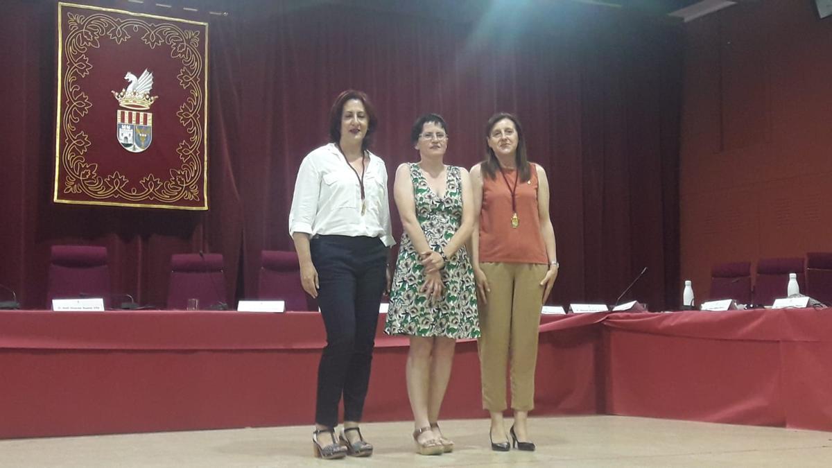 Las regidoras de Alboraia que aprobaron la moción.