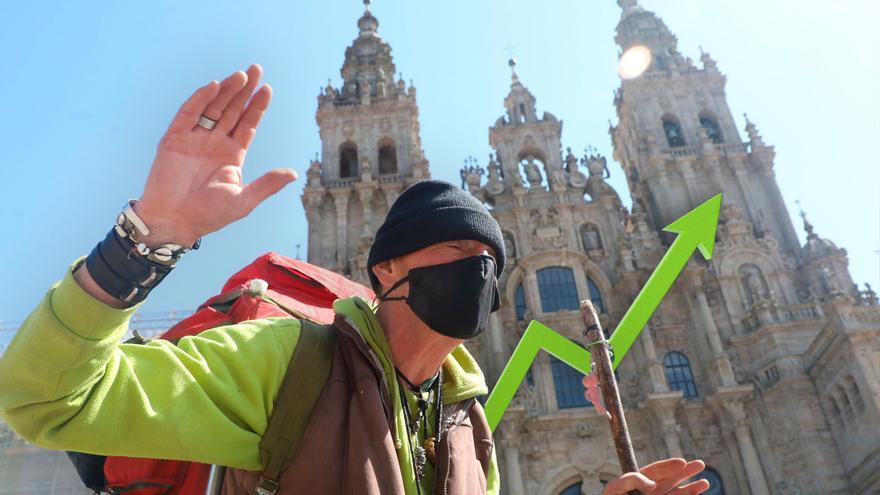 Galicia aspira a repetir la histórica cifra de 5 millones de turistas en el horizonte de 2023