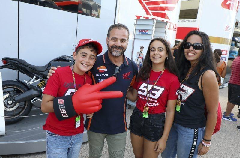 Sesión de tarde del Gran Premio de Aragón del sábado 21 de septiembre