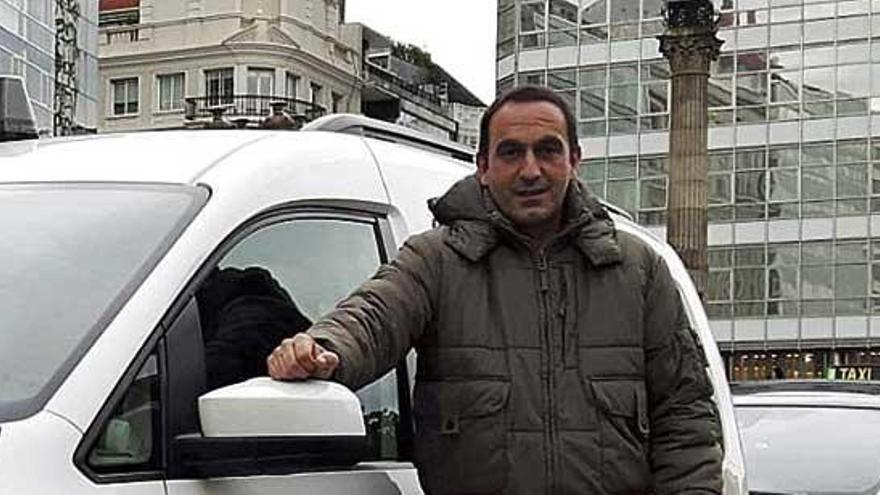 "Rafael Fernández Barbeito, taxista: ""Todos los días son como un sábado por la mañana"""