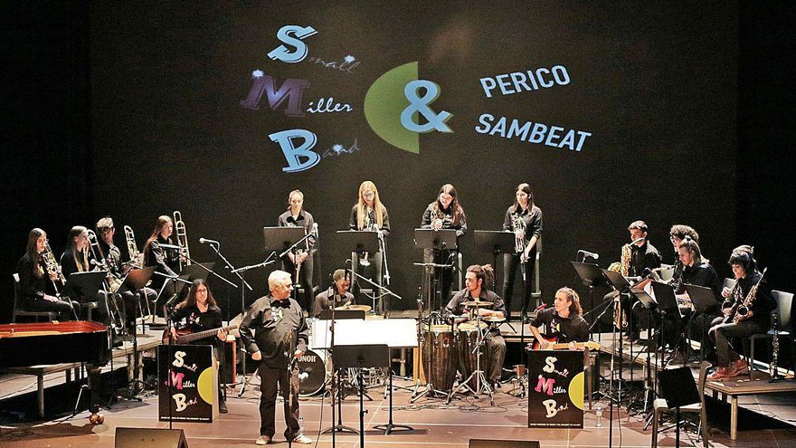 La Small Miller Band de Sallent actua demà amb el pianista Joan Díaz al Kursaal