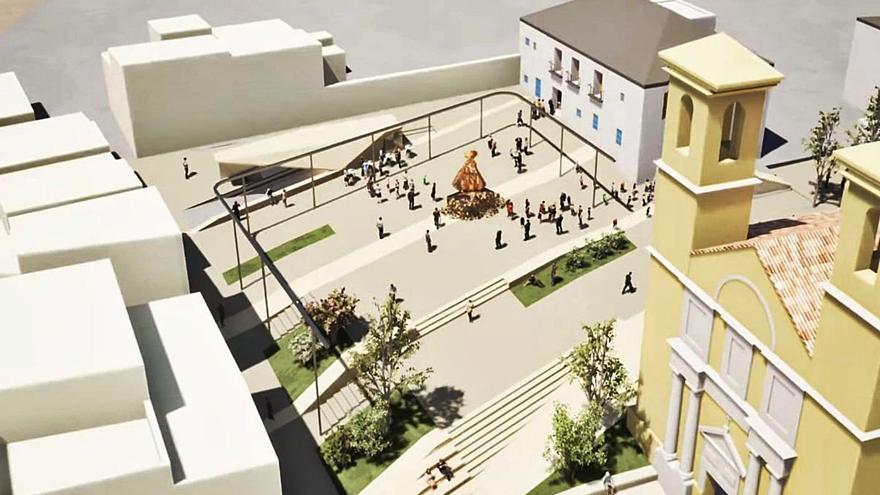 Ibi iniciará las obras de la plaza de la Iglesia en septiembre