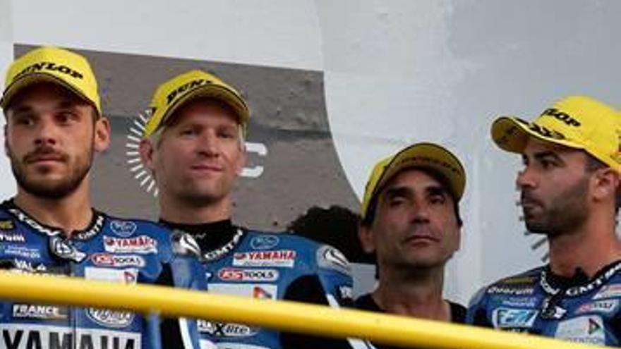 David Checa i el GMT-94 Yamaha finalitzen tercers a les 8 Hores d'Oschersleben