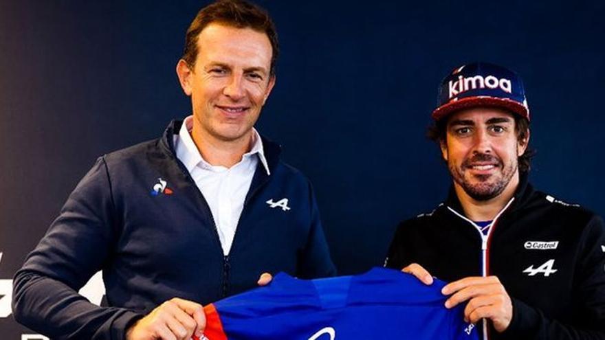 Fernando Alonso renueva con Alpine para 2022