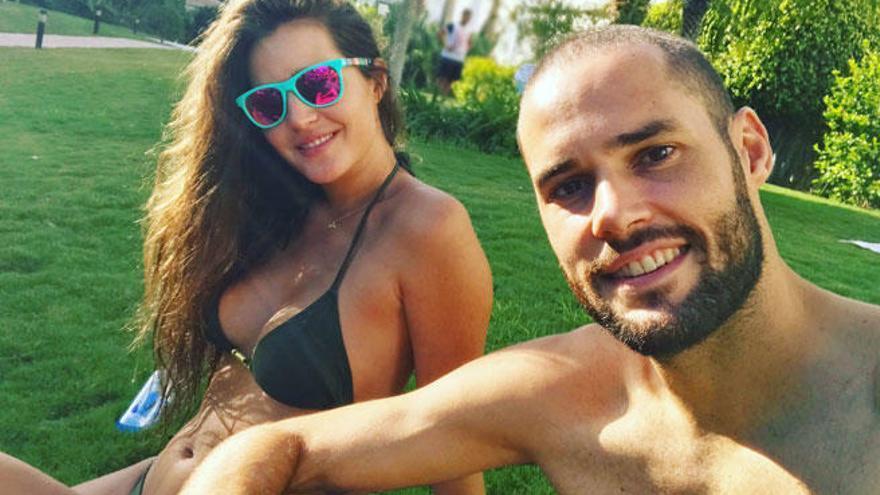 """Malena Costa disfruta """"del amor y del verano"""""""