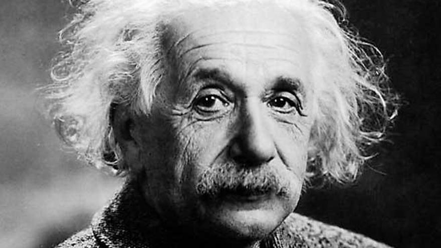 Einstein soñador