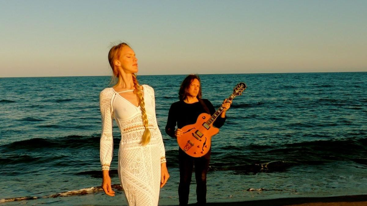 El duet de jazz Atzur actua en streaming a La-Sala.Online