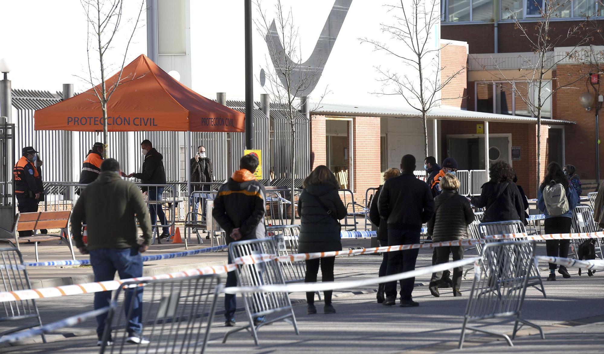 Comienza el cribado masivo de test antígenos en Burgos