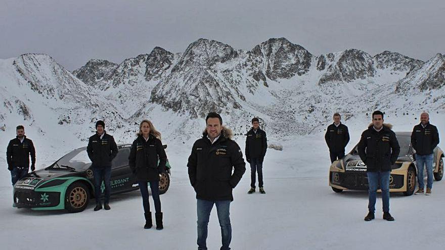 Miquel Socías regresa a las GSeries sobre hielo y nieve