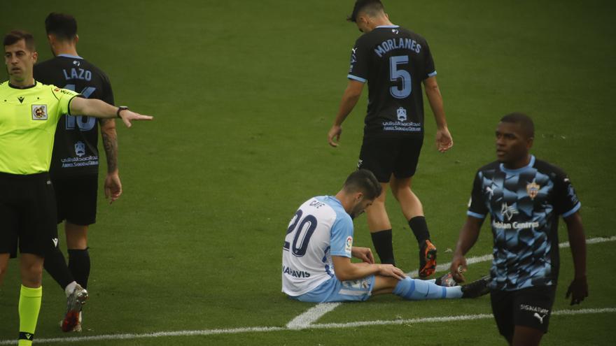 Las mejores jugadas y goles del partido entre el Málaga CF y el Almería