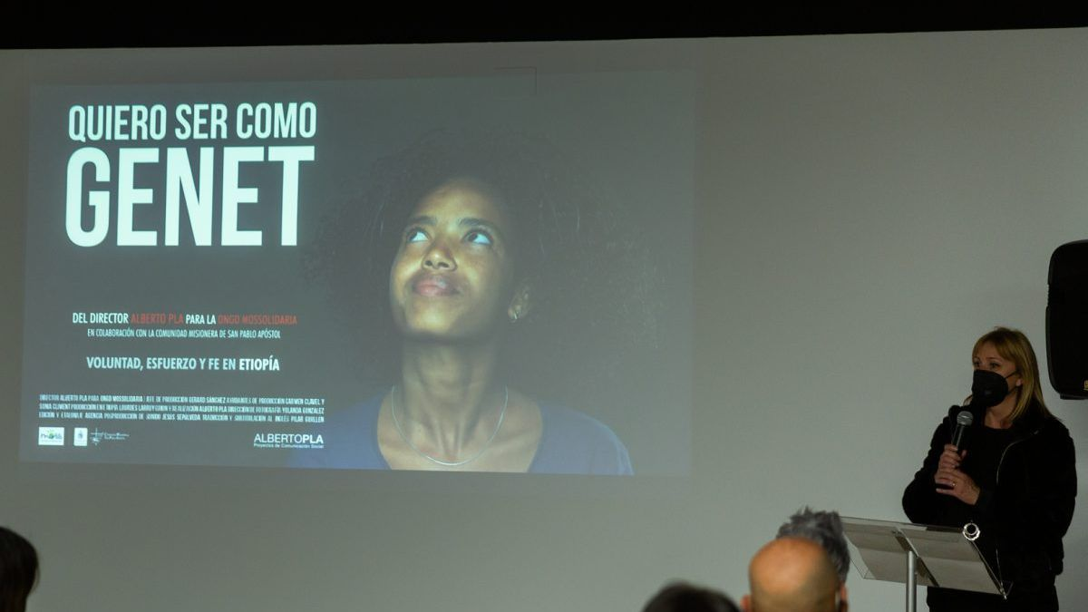 """Presentació del documental """"Vull ser com Genet"""" en Ruzafa Studio."""