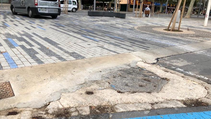 Cs Benidorm exige sancionar a la empresa de la avenida del Mediterráneo por exceder 2 años su finalización