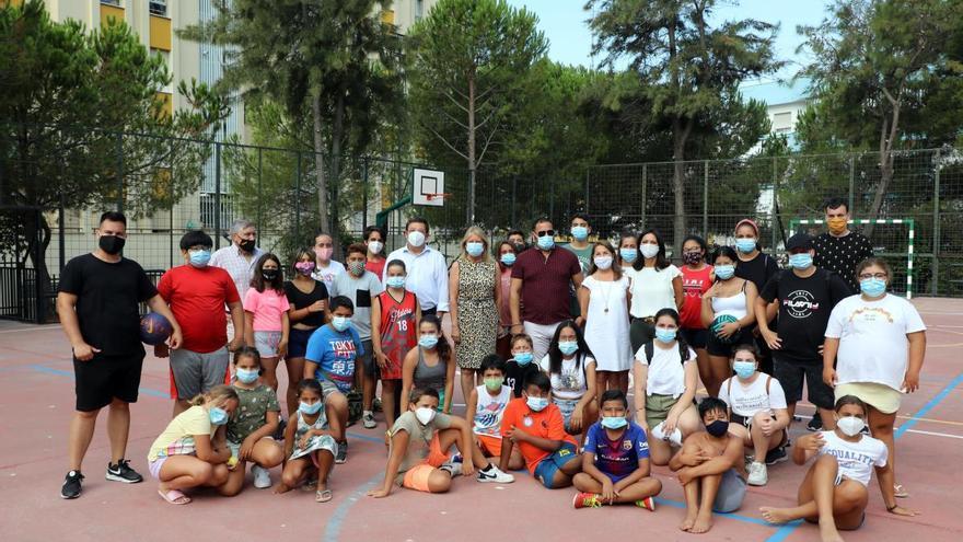 Más de 80 escolares acuden a un comedor de verano en Marbella