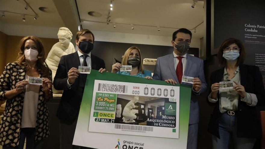 La ONCE dedica su cupón a la Afrodita agachada del Museo Arqueológico de Córdoba