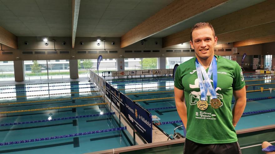 Pedro Serrano se proclama doble campeón de España máster