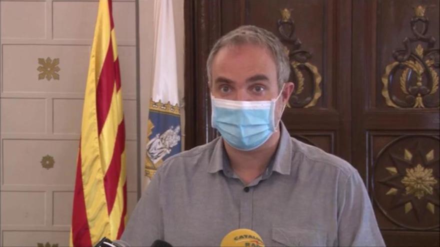 L'alcalde de la Seu d'Urgell, Jordi Fàbrega, explica perquè s'ha decidit fer el cribatge massiu.