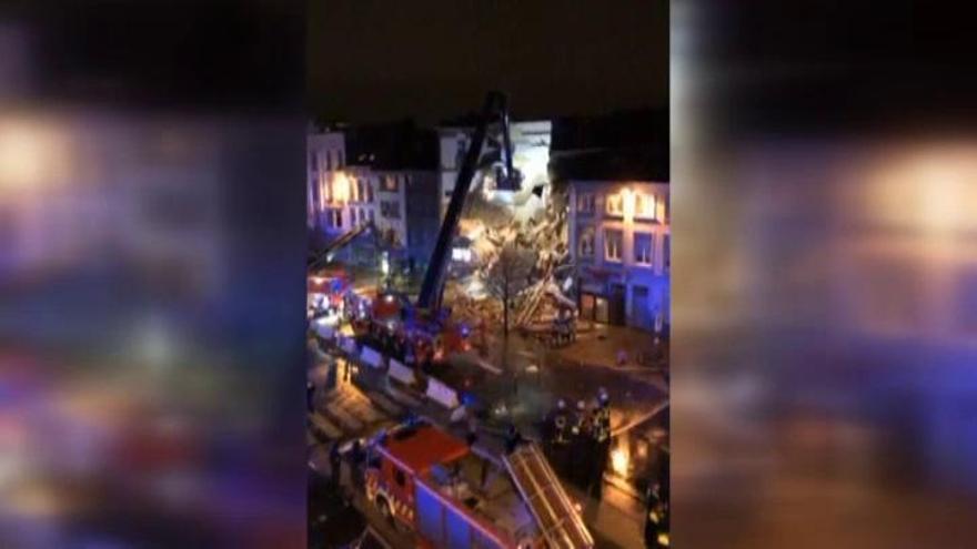 Dos muertos por una explosión de gas en Bélgica