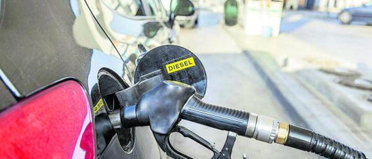 Balears quiere prohibir los nuevos vehículos diésel en 2025. | EP