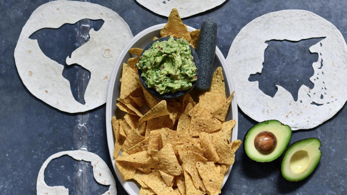 La receta para hacer el primer guacamole universal
