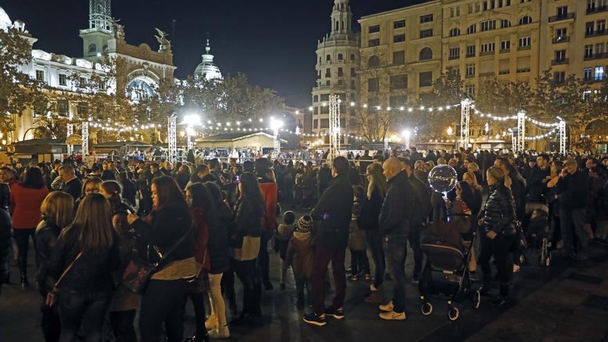La plaza del Ayuntamiento se cerrará en Nochevieja