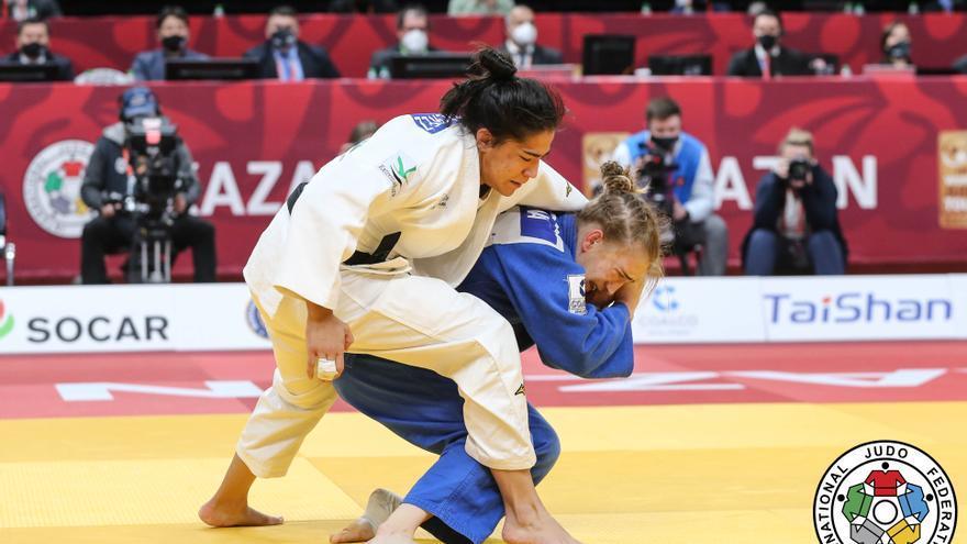 Cristina Cabaña y la fe en luchar por el podio