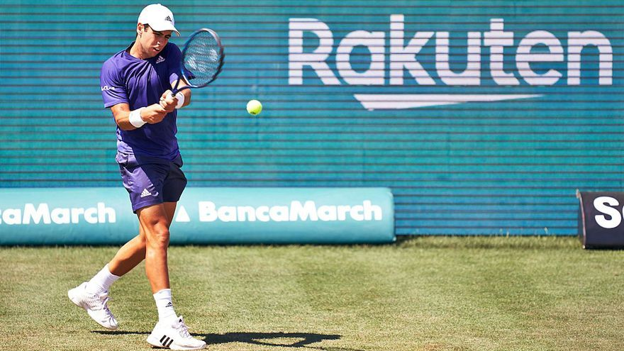 Jaume Munar se despide del Mallorca Championships en individuales y dobles