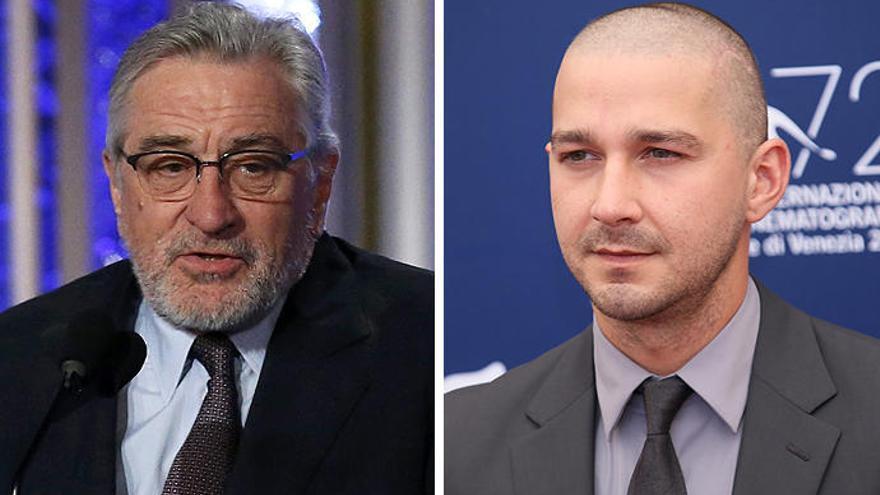 Robert De Niro y Shia LaBeouf protagonizarán la película 'After Exile'