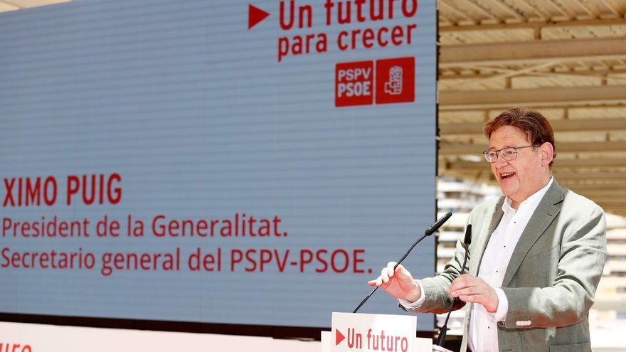 """Puig: """"Desde que hay un Gobierno socialista la Comunitat Valenciana está mejor financiada"""""""