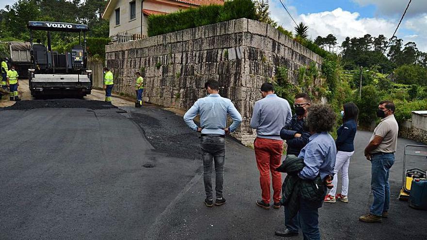 Mos avanza en su plan de mejora de caminos municipales