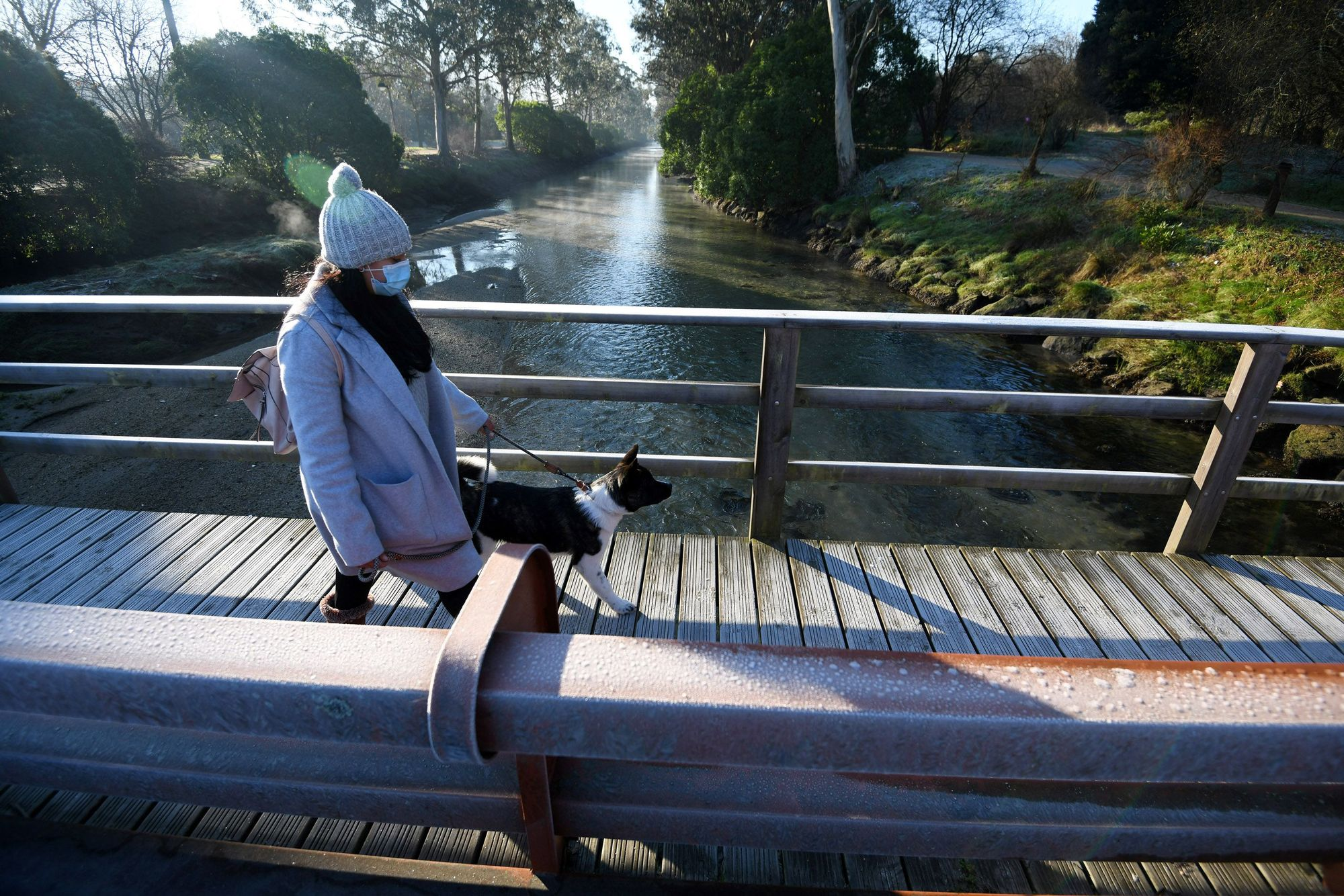 El tiempo en Galicia   Temperaturas bajo cero hielan la comarca de Pontevedra
