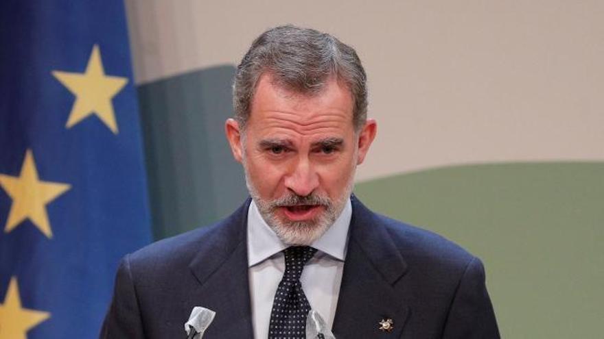 """El rey apela a los directivos de empresas ante la crisis: """"Os necesitamos"""""""