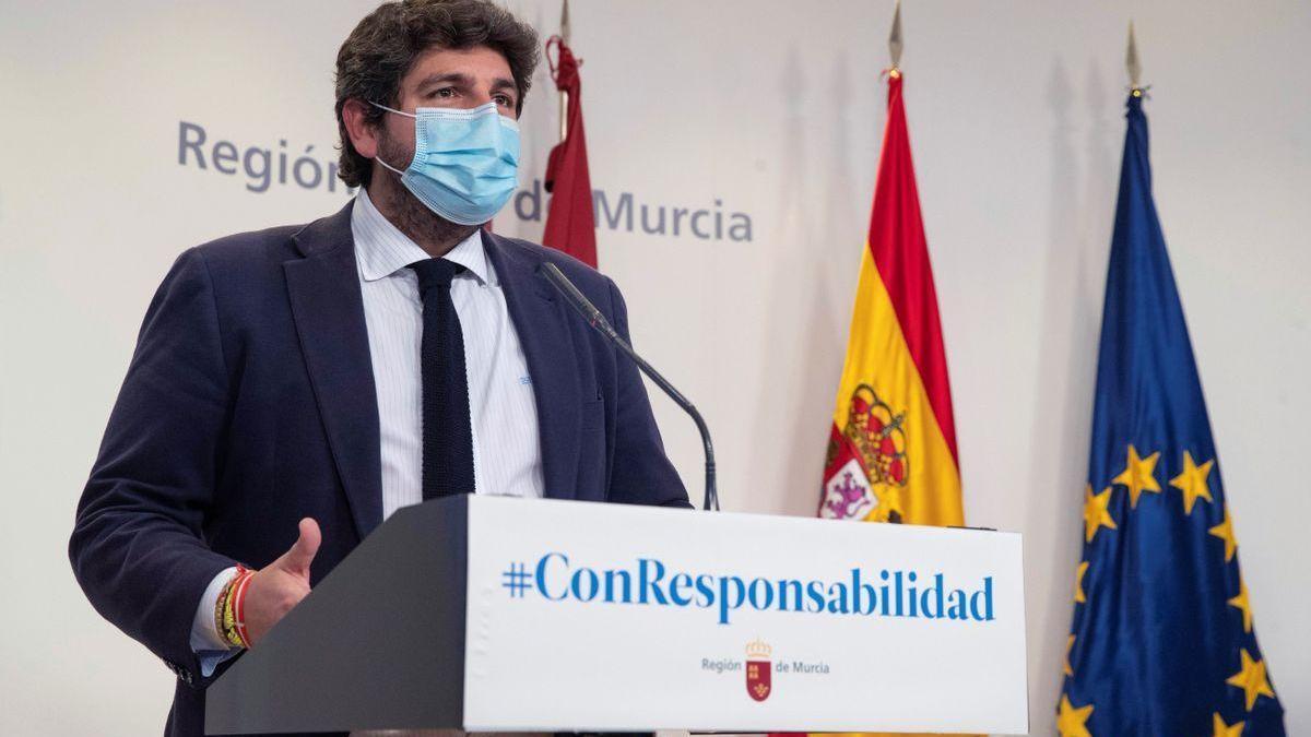 PSOE y Cs presentarán una moción de censura en Murcia