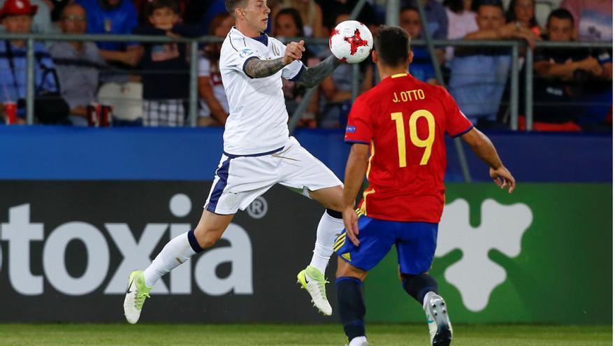 Jonny, titular en la goleada de España a Italia en la semifinal del Europeo
