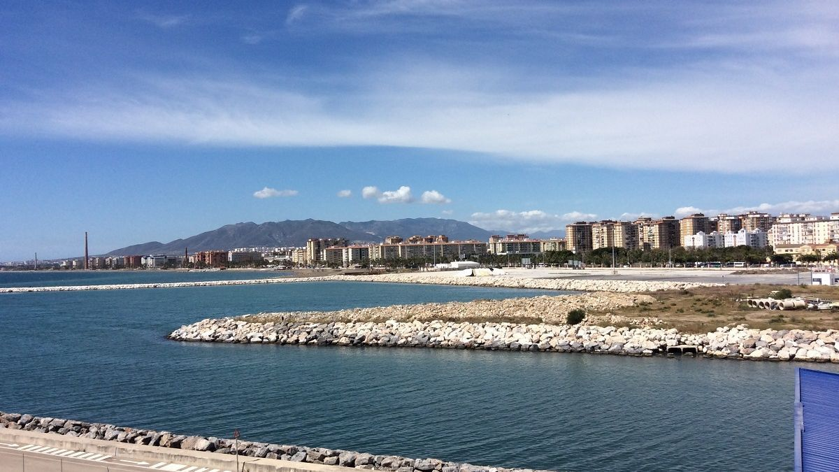 Muelle de San Andrés, donde se contruirá la marina.